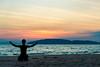 Zen (skweeky ツ) Tags: thailand thailande ao nang beach sunset silhouet silhouette backlight coucher soleil sea sun shadow
