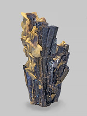 Arsenopyrite with Siderite (Ron Wolf) Tags: arsenopyrite earthscience geology mineralogy siderite crystal hexagonal mineral monoclinic nature ore pseudoorthorhombic rhombohedral guangxiprovince china