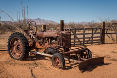 Pull (Wayne Stadler Photography) Tags: 2018 wildwest towns ghosttowntrail rust vintage tractor rustographer pearce abandoned southwest derelict rusty rustography arizona usa west ghosttown