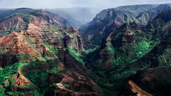 Hawaii USA- Kauai  Island - Waimea Canyon State Park (Feridun F. Alkaya) Tags: kauai kauaiisland usa hawaii waimeacanyonstatepark waimea waimeacanyon hawaiiisland ngc