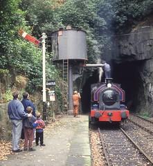 """Princess"" at Haverthwaite (lewispix) Tags: princess 060st bagnall steam locomotive railway"