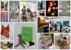 A wonderful exhibition from Mette Larsen (Landanna) Tags: exhibition mettelarsen knitting strikke breien freestyle handmade handgemaakt handwerk håndlavet collage kleurrijk farverig colourful
