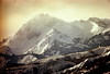 1a-413 (ndpa / s. lundeen, archivist) Tags: nick dewolf nickdewolf photographbynickdewolf 1977 1970s color 35mm film 1a reel1a aspen colorado rockymountains mountain mountains snow snowy snowcovered landscape peak peaks clouds