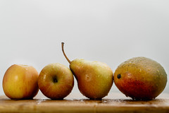 Juicy fruits (Hanna Tor) Tags: food meal fruits sweet juicy healthy organic mango pear apples hannator delicious