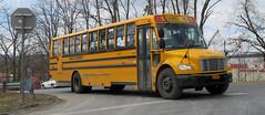 First Student #151622 (ThoseGuys119) Tags: firststudentinc kingstonny school bus thomasbuilt saftlinerc2 extrastorage luggagebays 2015 brandnew freightliner 72seats