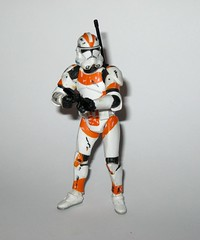 clone trooper - utapau clone trooper - battle of utapau star wars the saga collection 26 revenge of the sith basic action figures 2006 hasbro 1l (tjparkside) Tags: utapau clone trooper battle star wars saga collection 26 tsc hasbro 2006 basic action figure figures hologram troopers clones obiwan obi wan kenobi 212th battalion general grievous order 66 episode 3 iii three rots revenge sith blaster rifle backpack antenna boba fett blue