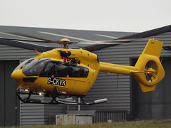 G-CKVK Airbus Eurocopter EC145 Helicopter Babcock Mission Critical Services Onshore Ltd (Aircaft @ Gloucestershire Airport By James) Tags: gloucestershire airport gckvk airbus eurocopter ec145 helicopter babcock mission critical services onshore ltd egbj james lloyds