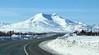 Unique Alaskan Mountain (JLS Photography - Alaska) Tags: mountains mountainpeaks mountain jlsphotographyalaska landscape landscapes lastfrontier alaska alaskalandscape snow road highway spring sky