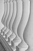 Ритмичность форм и полутеней (Tutchka) Tags: морекилометров архитектура балясина берег графика изгиб карандаш красота линия море пляж свет солнце фактура чёрное