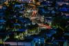 upper market torque (pbo31) Tags: sanfrancisco city urban california nikon d810 color march 2018 spring boury pbo31 over view night dark black lightstream traffic roadway bluehour blue rooftops castrodistrict marketstreet tankhill calendonheights