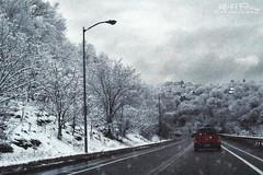 April Fools Joke (Hi-Fi Fotos) Tags: april fool joke winter snow driving road storm squall street car weather cold sky clouds flurries nikkor 40mm micro nikon d7200 dx hififotos hallewell