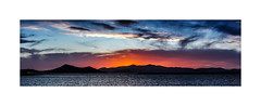 5471-2b The Afterglow (foxxyg2) Tags: sunset afterglow sky clouds sea aegean panorama panoramic stitch glow naxos cyclades greece greekislands islandlife islandhopping paros