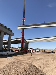 South Mountain Freeway - Salt River Bridges April 2018 (Arizona Department of Transportation) Tags: bridges bridgeconstruction bridge construction freewayconstruction salt river