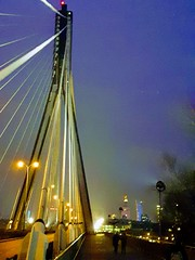 Varsovia (Polonia) (ergos35) Tags: polonia varsovia vistula puente anochecer luz luces