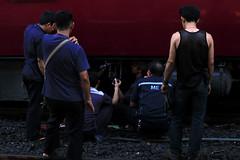I_B_IMG_9249 (florian_grupp) Tags: southeast asia thailand siam thai train railway railroad srt staterailwayofthailand metregauge metergauge bangkok krungthep station mainstation hualumpong hualamphong