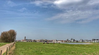 Skyline of Deventer, Netherlands - 0889
