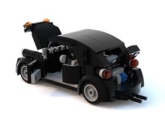 vw beetle mk1 black (barneysharman) Tags: lego vw beetle taxi camper mexico volkswagen bug baja herbie car vehicle moc dub custom minifigure scale splitscreen monster bugjam classic retro bricks