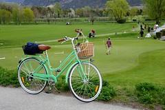 The Green (corinne emery) Tags: green golf vélo bike nature sion sitten valais