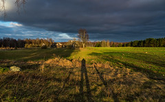The Little House (free3yourmind) Tags: little wooden house field trees forest nature belarus braslaw braslav shadow photographer clouds cloudy day