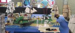 IMG_5611 (sebeus) Tags: lego brickmania wetteren 2018 exhibition pirate layout island ship sea ocean fort beach port harbor town