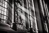 the light (Daz Smith) Tags: dazsmith fujixt20 fuji xt20 andwhite bath city streetphotography citylife thecity urban streets uk monochrome blancoynegro blackandwhite mono window light rays shine church stainedglass jesus