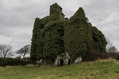 Menlo castle, built in the 16th century and abandoned for over 100 years. (arthuroleary) Tags: castle ireland ivy photo old abandoned menlo menlocastle