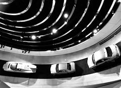 Nacht der Museen (2) (Niwi1) Tags: niwi1 culture kultur bw car sw exhibition history event ausstellung geschichte auto mobil germany stuttgart museum mercedes benz