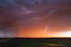 Démarrage haut en couleurs (Louis Hecker) Tags: orage storm thunderstorm éclair lightning coucherdesoleil sunset france ariège printemps spring