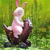 MadPea Easter 2018 (WrenNoir Cerise) Tags: secondlife slavatar easter easterbunny