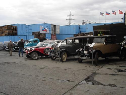 Выставка ретро-автомобилей ©  ayampolsky