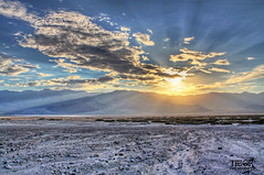 Death Valley Sunset (morbidtibor) Tags: usa california deathvalley desert badwater badwaterbasin salt sunset dry