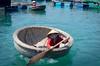 Bamboo Basket Boat - Nha Trang, Vietnam (sydbad) Tags: bamboo basket boat nhatrang vietnam sony sonya7 ilce7 fe 55mm f18 za