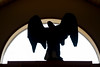 Fallen (DaveLawler) Tags: chancyrendezvous blurgasm angel eagle silhouette statue wooden osv oldsturbridge carved carving america american bald