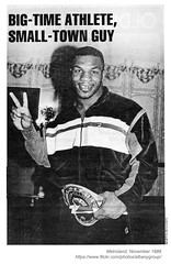 1986 Mike Tyson (albany group archive) Tags: albany ny history metroland 1986 mike tyson boxer 1980s vintage photos old pictures photographs historical picture photo photograph historic