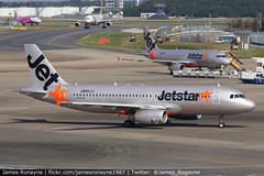 JA10JJ | Airbus A320-232 | Jetstar Japan (james.ronayne) Tags: ja10jj airbus a320232 jetstar japan aeroplane airplane plane aircraft jet jetliner airliner aviation flight flying tokyo narita nrt rjaa canon 80d 100400mm raw gk jjp