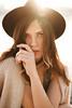 sunny Anna (ZolotoyPhotography) Tags: girl sun flare hat look face sexy lips 45tse canon tilt shift lens