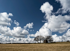 Peak District Barn (Andy & Helen :-) :)) Tags: barn peakdistrict cumulous clouds landscape trees