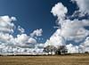 Peak District Barn (Andy & Helen :-) :)) Tags: barn peakdistrict cumulous clouds landscape trees