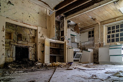 Yr Hafan (keithbellis) Tags: purple ruin dilapidated abandoned