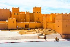 Ourzazate (Laszlo Horvath.) Tags: ourzazate marocco orange castle berber morocco nikond7100 sigma1835mmf18art arabic