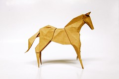 Horse (guangxu233) Tags: origami origamiart paperfolding paper paperart art 折纸 手作り horse hideokomatsu 折り紙作品 折り紙
