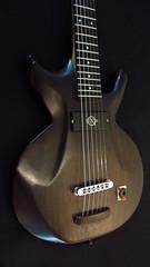 Q-tuner pickups ebony guitar black (Dave Schwimmer) Tags: qtuner neodymium pickups humbucker electric guitar bass