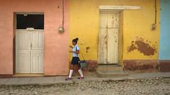 CUBA Trinidad La Gente IV (stega60) Tags: cuba trinidad estudiantes calle escuela students street people light lagente colores colors stega60