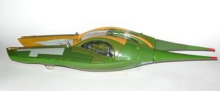 zam wesell speeder star wars saga attack of the clones vehicle hasbro 2002 c