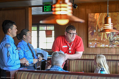 20180412-CJTipACop-Athlete-AllenWales-Cadets-JDS_6649 (Special Olympics Southern California) Tags: athletes claimjumper devonshire giving lapd letr northridge restaurant socal specialolympics specialolympicssoutherncalifornia tipacop fundraiser