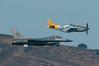 Heritage pass (SBGrad) Tags: 2017 20thfighterwing 300mmf28dii alr d300s f16viper f16c fleetweek heritageflight nikkor nikon northamericanaviation p51 sf sanfrancisco shawafb usairforce airshow pspamcan tc17eii