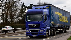EY63 RFX (Martin's Online Photography) Tags: man tgs truck wagon lorry vehicle freight haulage commercial transport a580 leigh lancashire nikon nikond7200