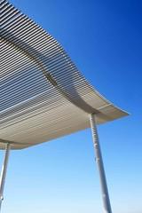 light as air (jim_ATL) Tags: metal pergola canopy wharf district washington dc minimal