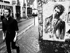 Sid (gregjack!) Tags: france paris sid sidvicious graffiti graffitiart art street streetphotography people bnw bw