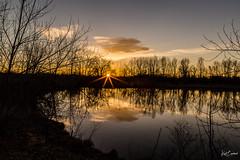 Blink of Dawn (Kent Copeland) Tags: dawn reflections water sunrise boulder colorado unitedstates lake light clouds sun